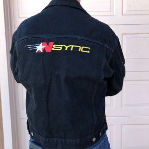 *NSYNC denim jacket black